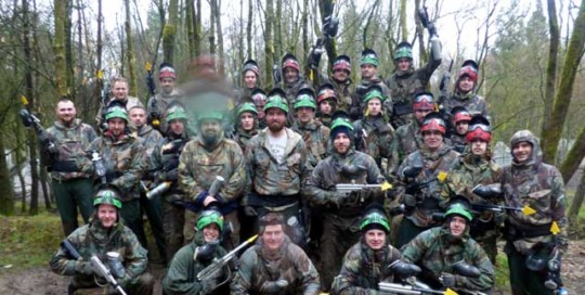preston paintball work do