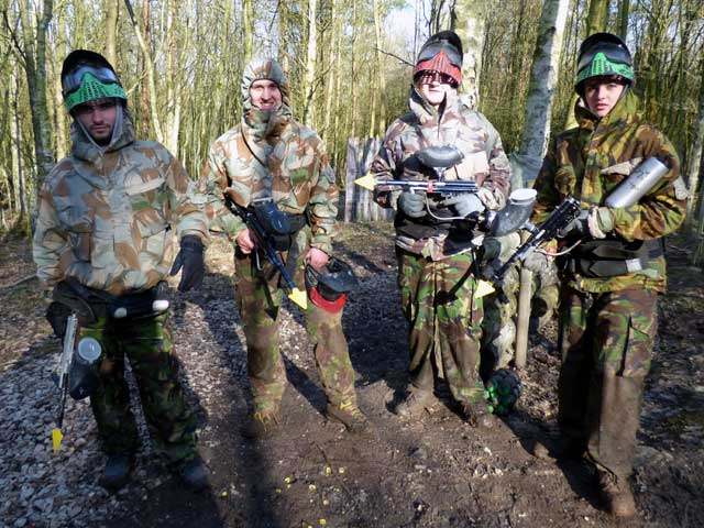 paintballers from blackrod