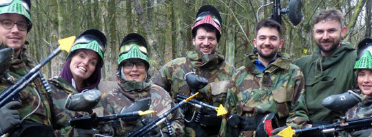 paintball chorley