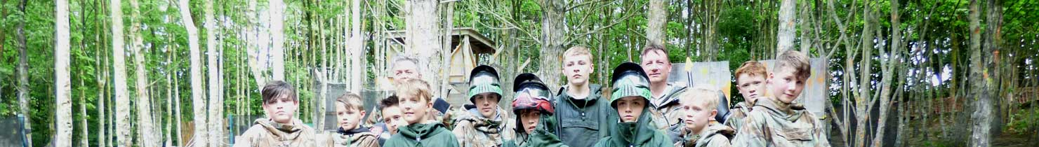 12 year old paintball birthday party